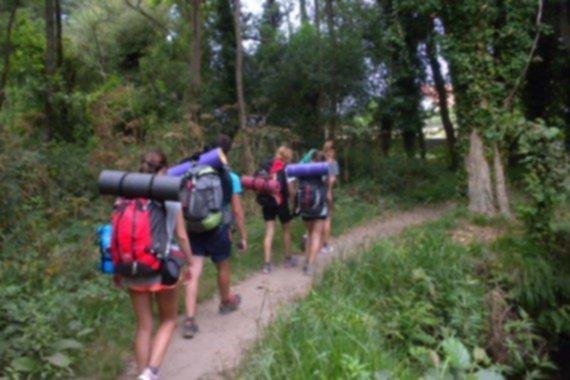 Equipaje para el Camino de Santiago 2015