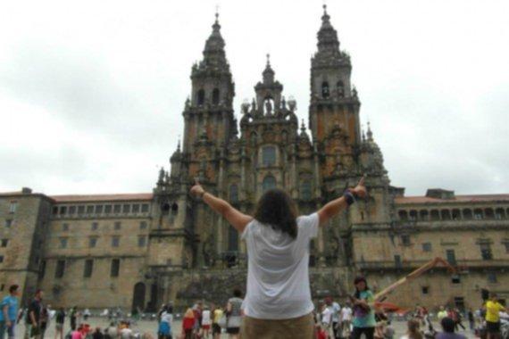 María, coordinadora del Camino de Santiago
