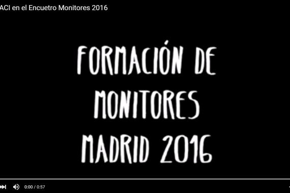 Vídeo del Encuentro de monitores