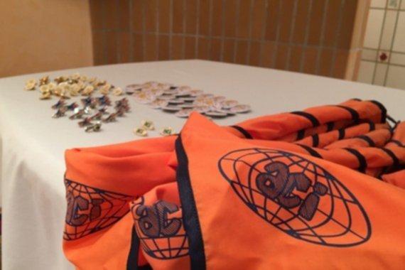 Imposición de pañoletas en Gandía