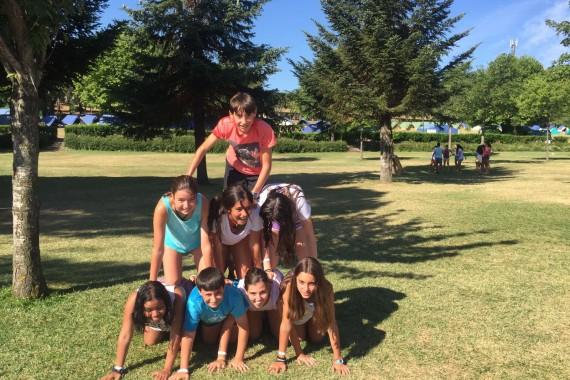 Sexto día de campamento: antorchas
